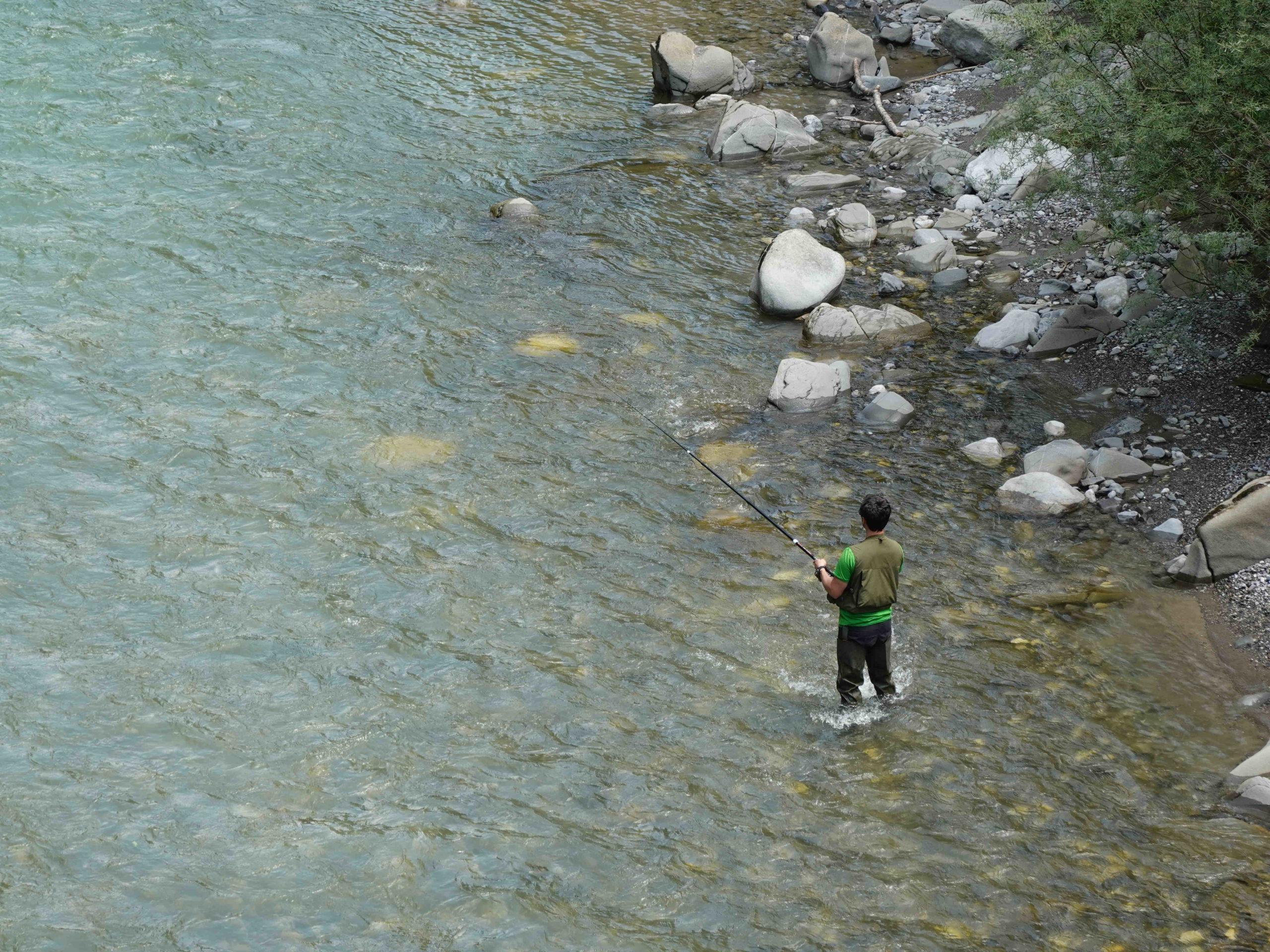 Comment faire une ligne de pêche?