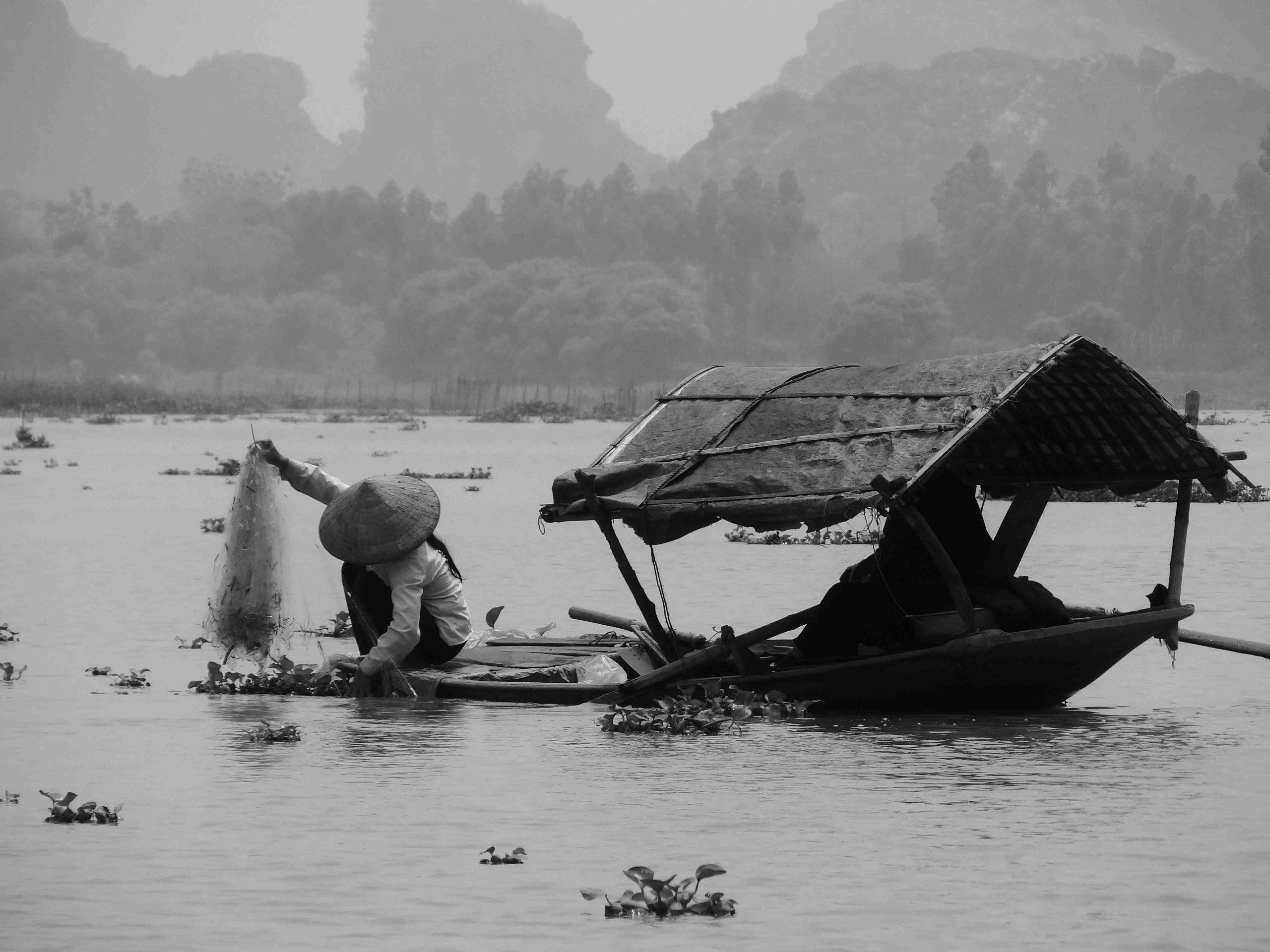 Comment fonctionne un filet de pêche?
