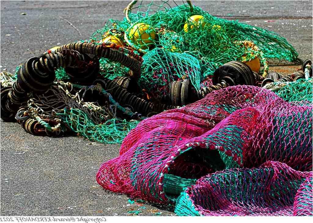 Quel est le nom du filet de pêche?