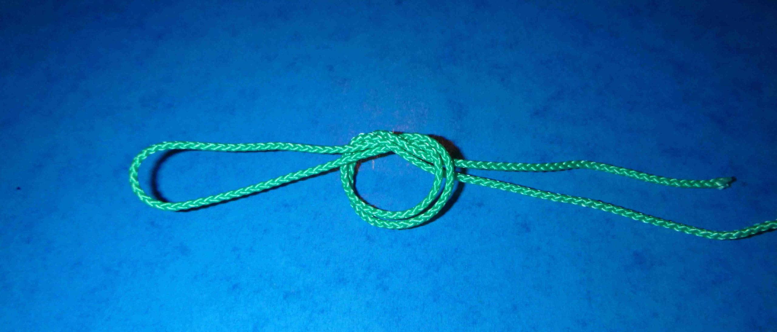 Comment faire une boucle avec un fil de pêche ?