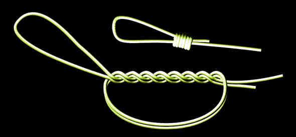 Comment faire une boucle dans une corde ?