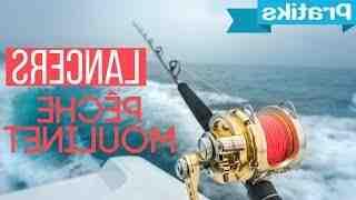Comment fonctionne un moulinet de canne à pêche ?