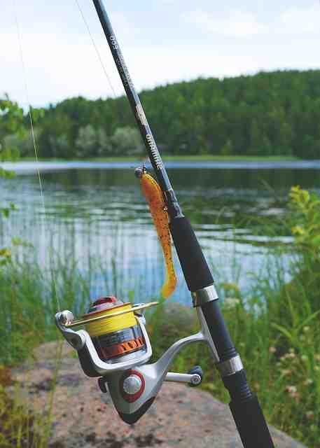Comment monter une canne à pêche à moulinet ?